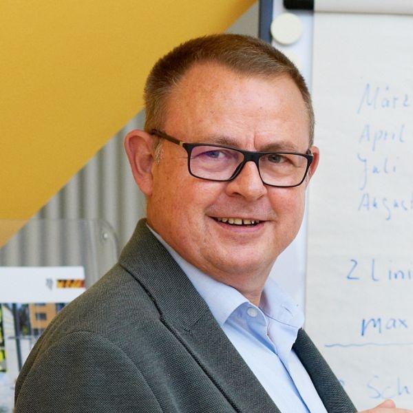 eta-Geschäftsführer Herr Ilmberger