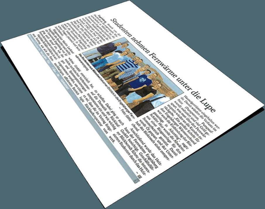 Deckblatt Artikel Engelsberg - eta Energieberatung