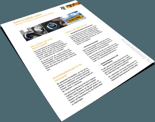 Elektromobilität nutzen - eta Energieberatung