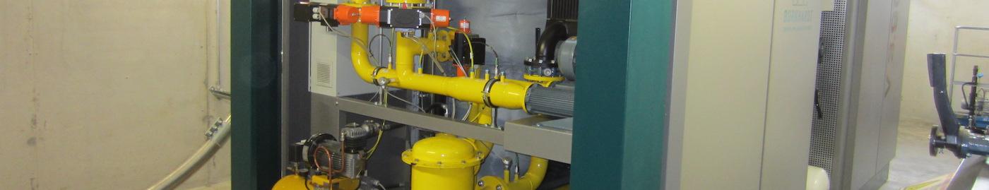 Holzvergaser mit Klärschlammtrocknung