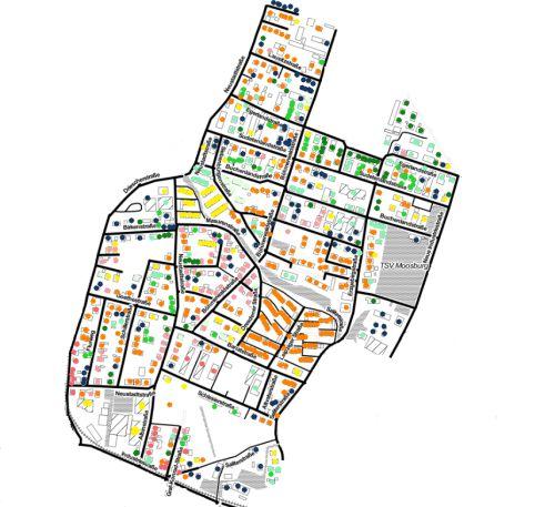 Quartierskonzept Moosburg, eneretische Sanierung