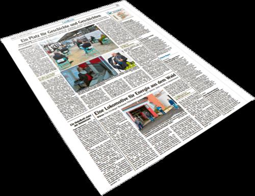 Deckblatt Presseartikel Eresing